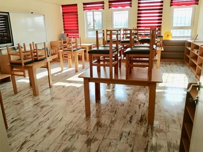 A Montessori class started education at Dilovası M.Zeki Obdan Primary School with our support